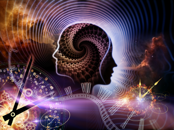 mind consciousness universe time
