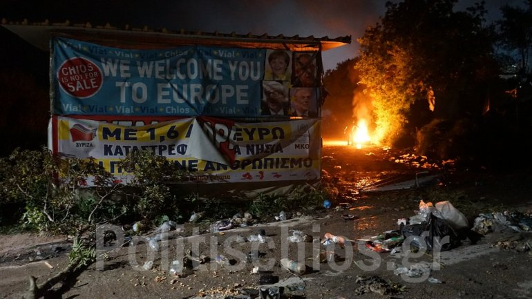 Migrant Riots On Greece