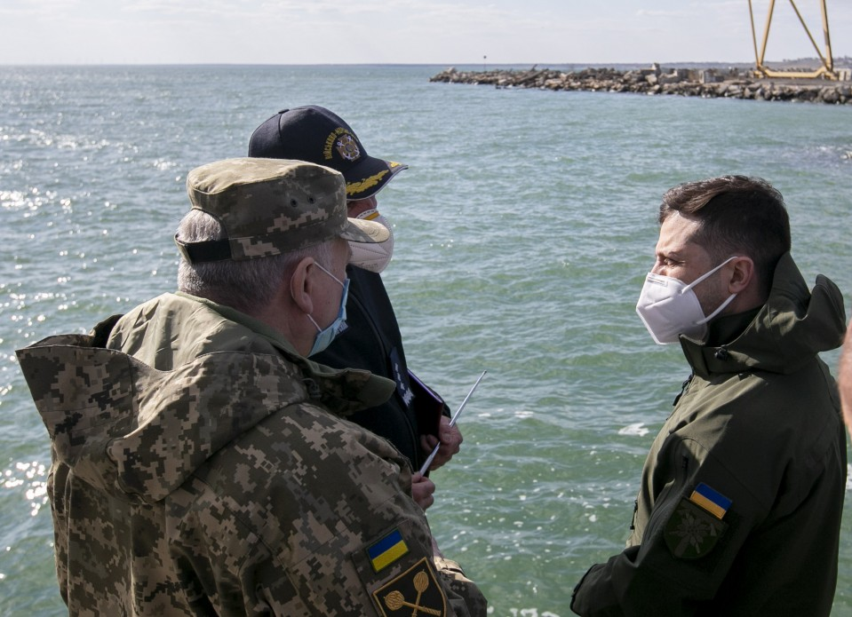Ukraine To Build Naval Base In Sea Of Azov For
