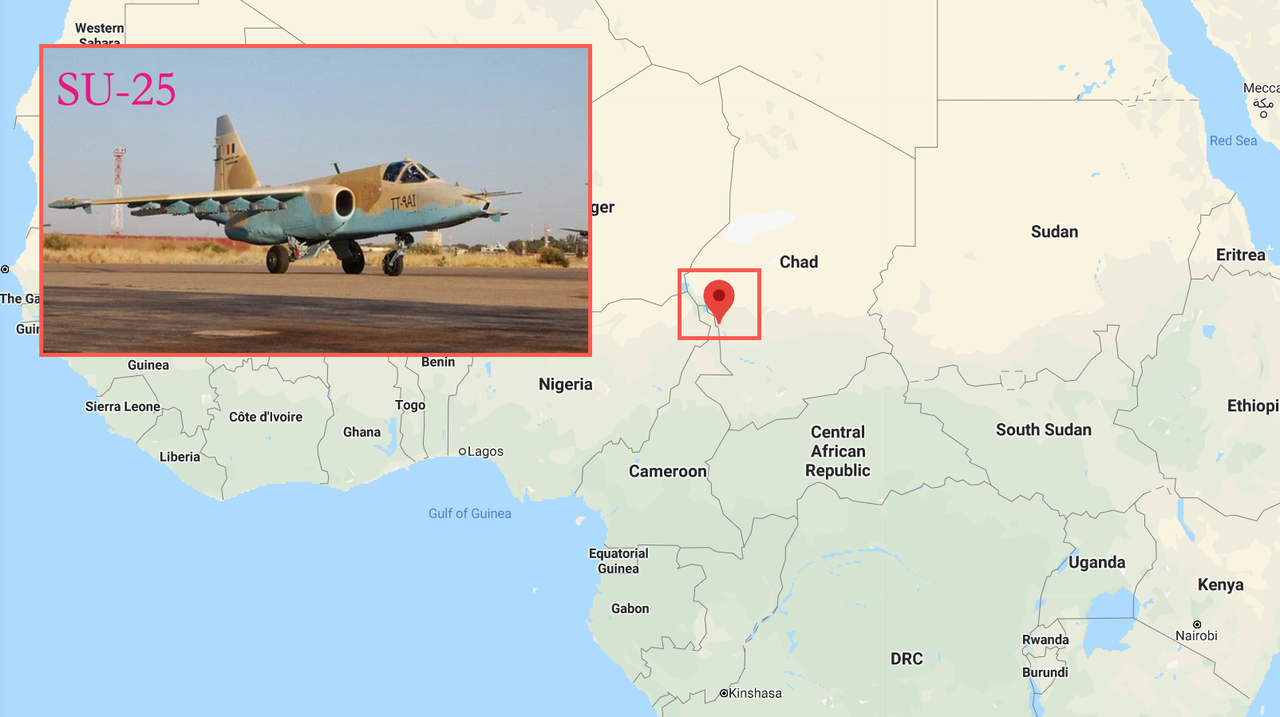Watch: Dramatic Footage Shows Chadian Military Jet