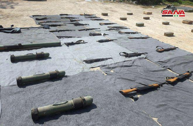 In Photos: Security Forces Seize Militants