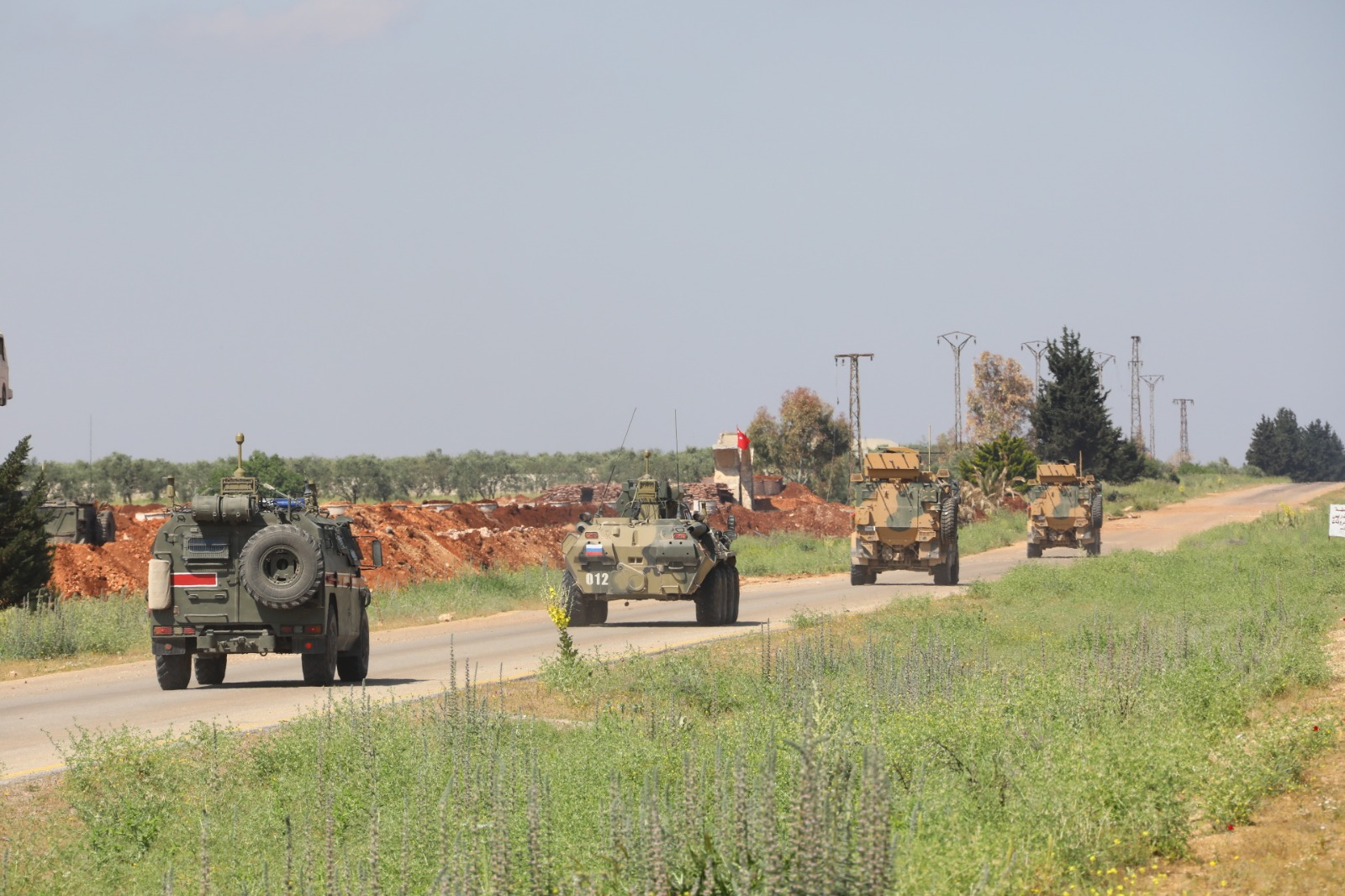 Turkey And Russia Hold Second Extended Patrol In Southern Idlib (Photos, Video)