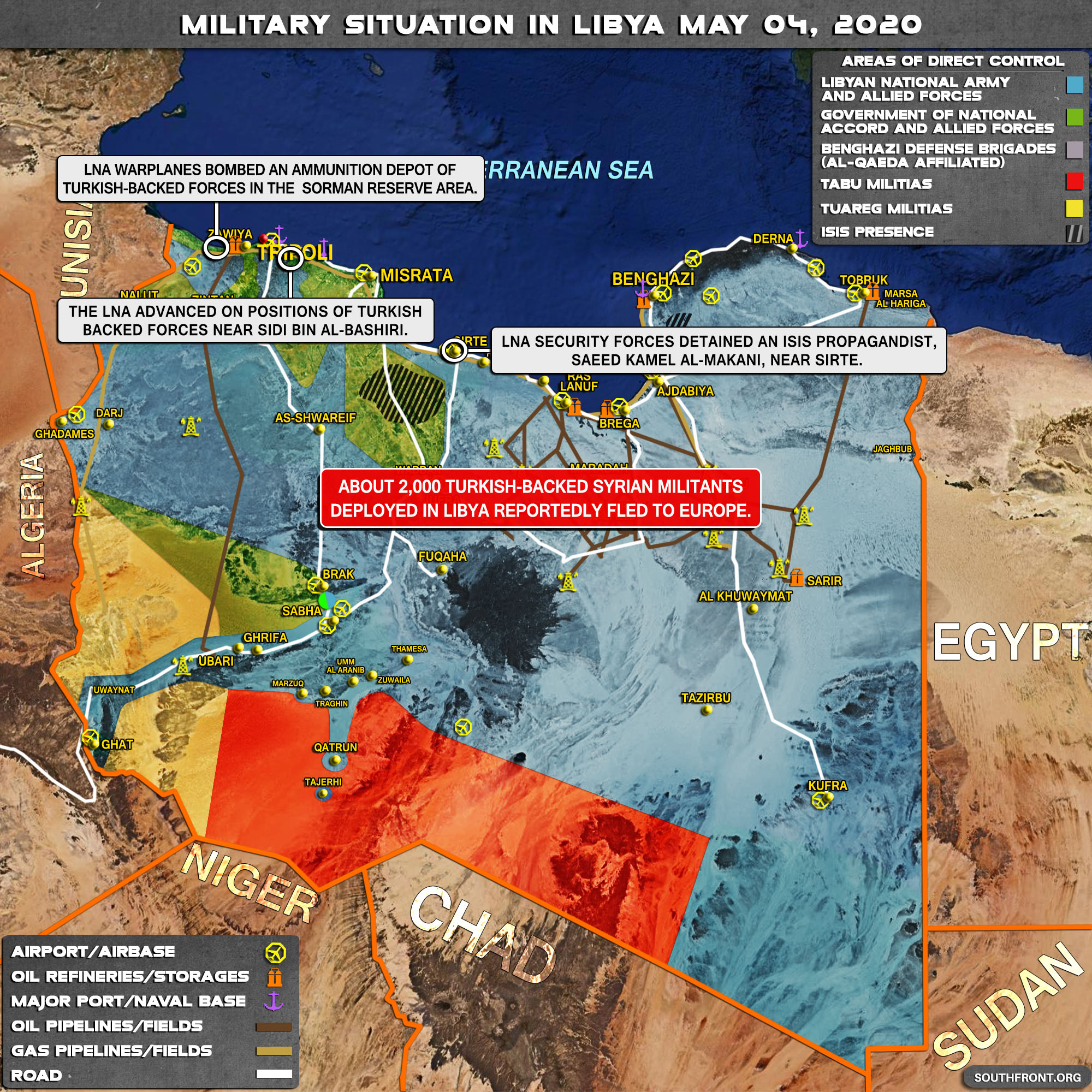 Military Situation In Libya On May 4, 2020 (Map Update)