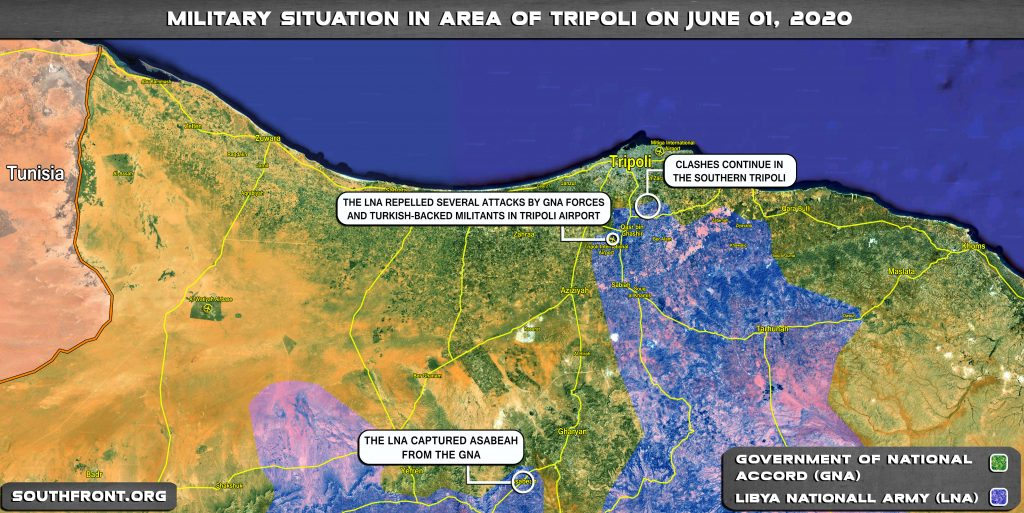 Military Situation In Area Of Libya