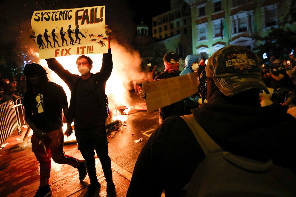 Widespread Protests And Violence Continue In United States. Trump Designates ANTIFA As Terrorist Organization
